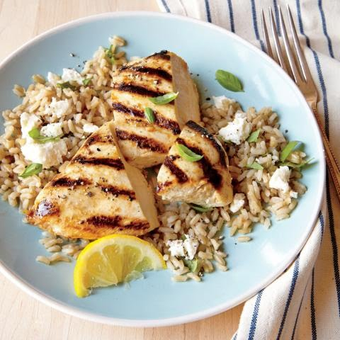 grilled lemon chicken feta rice ck - Сет меню 5 - ТОПЕНЕ НА МАЗНИНИ(РАВНОМЕРНО БАЛАНСИРАНО)
